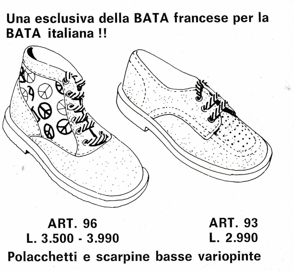 Nabídka obuvi, Traguardo Bata, 1972