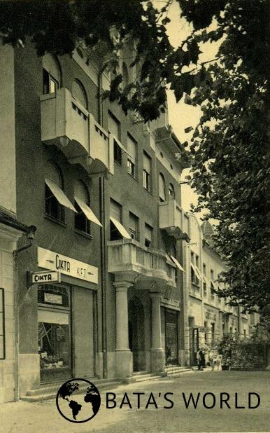 Prodejna společnosti Cikta, Muraszombat, 40. léta