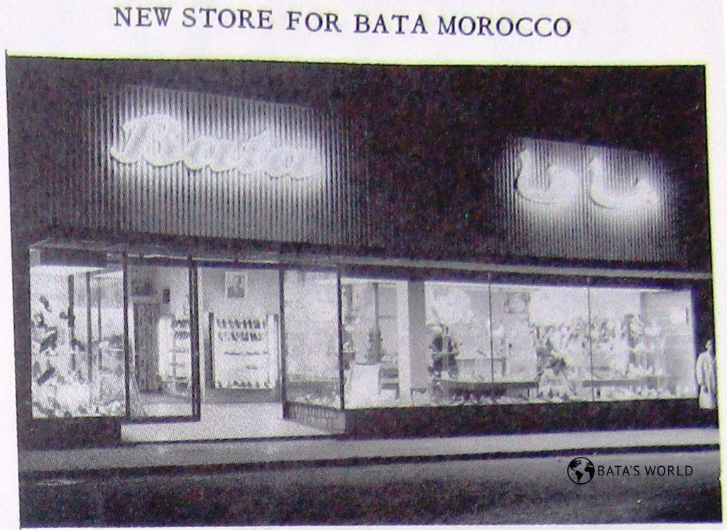 Baťova prodejna, Safi, 1962