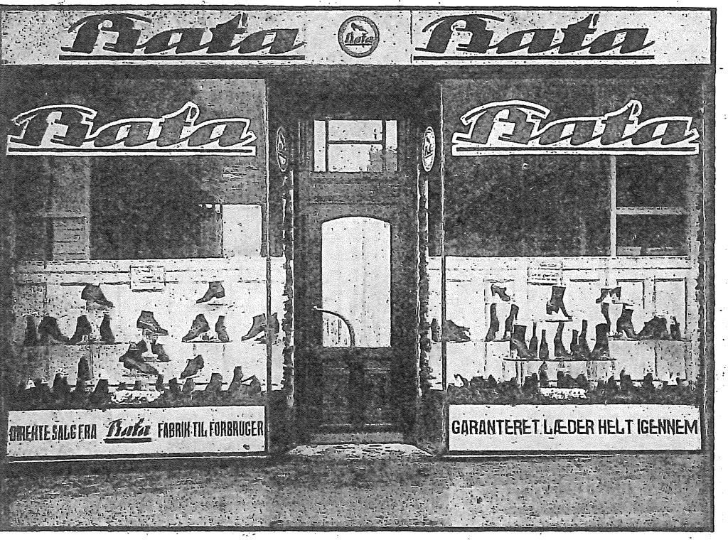 Baťova prodejna, Arhus (1922-25)