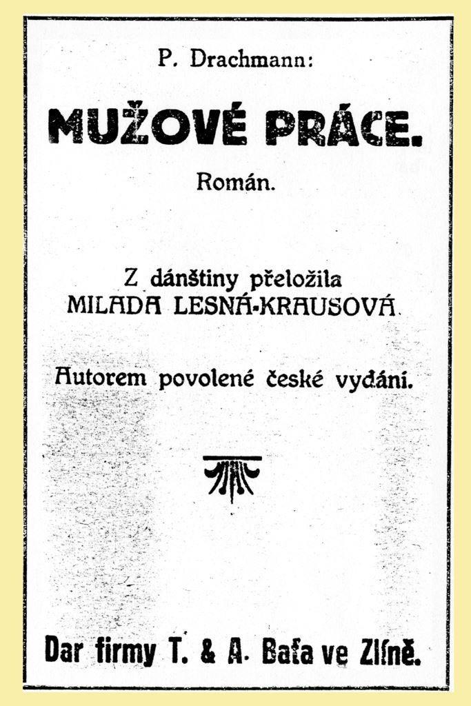 Román P. Drachmana, 1923