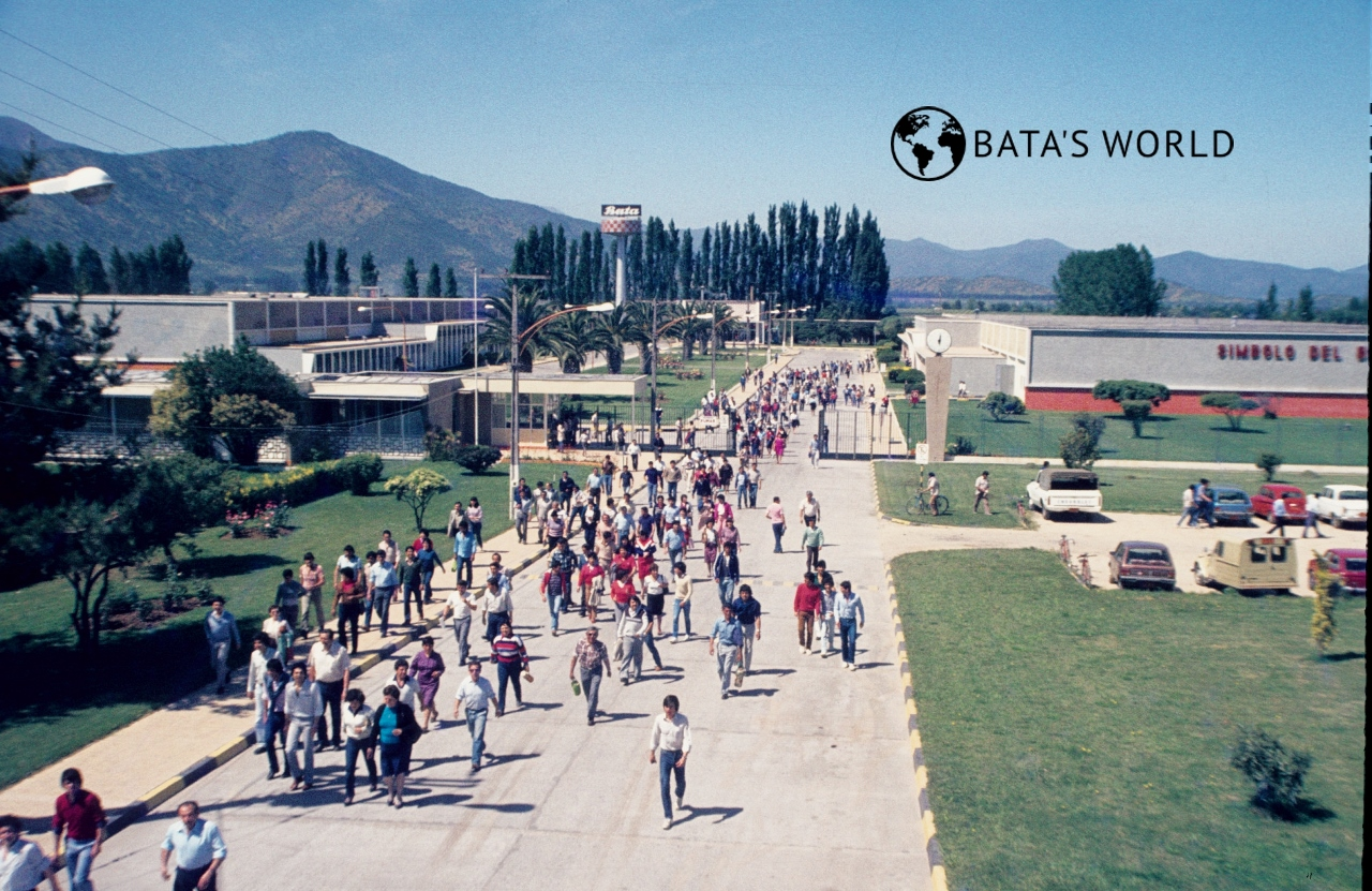 Bata shoe factory – Melipilla, (around 1970)
