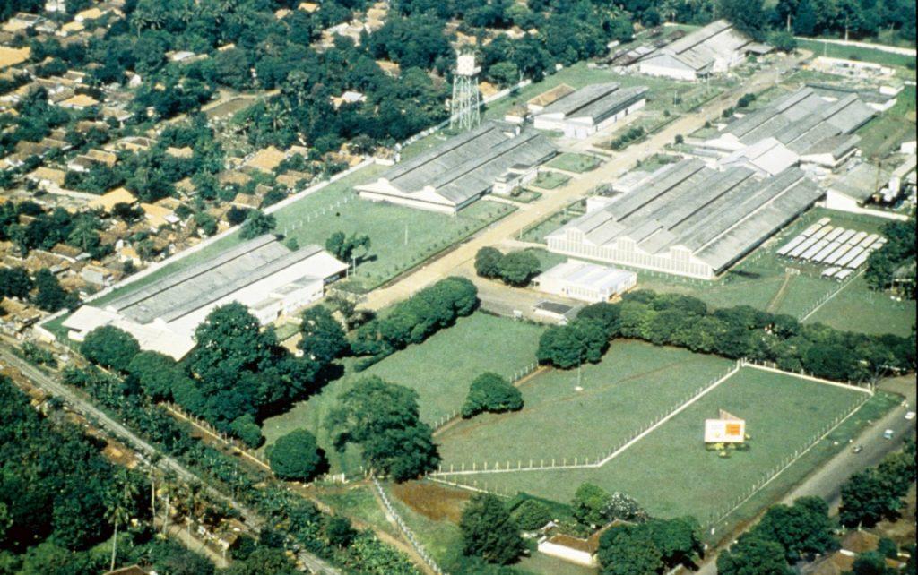 Továrna Kalibata (asi kolem r. 1970)