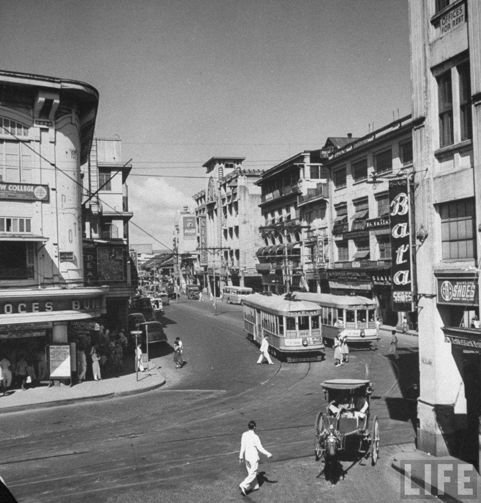 Prodejna v Manile, 1942 (časopis Life)