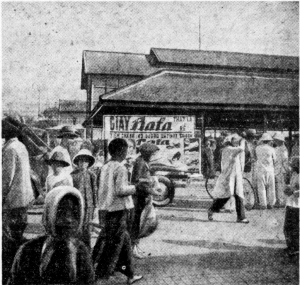 Pohyblivá prodejní souprava, Saigon 1936