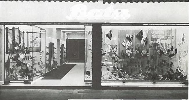 Prodejny v Bangkoku, r. 1968