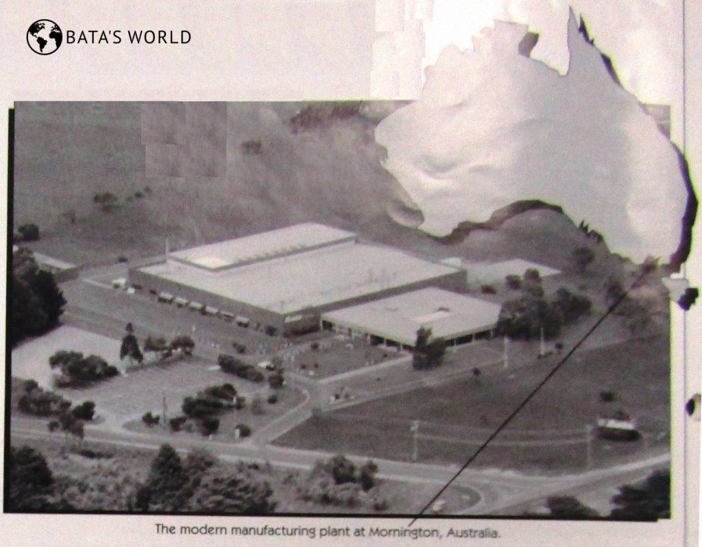 Baťova továrna, Mornington, Austrálie