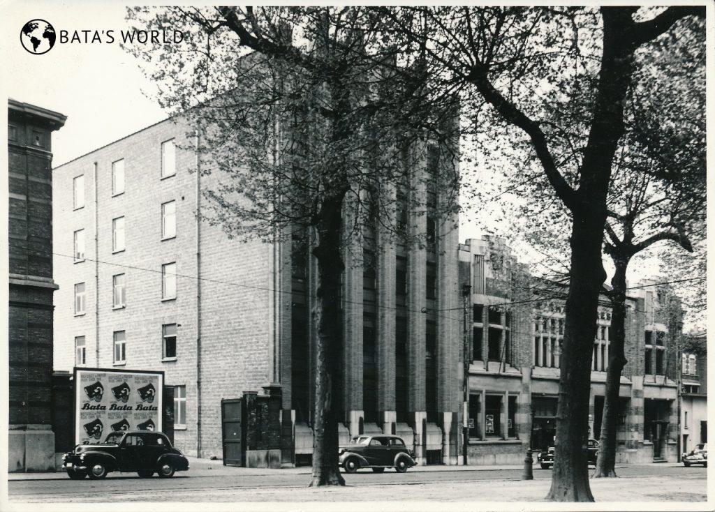 Baťova továrna, Belgie, 50. léta