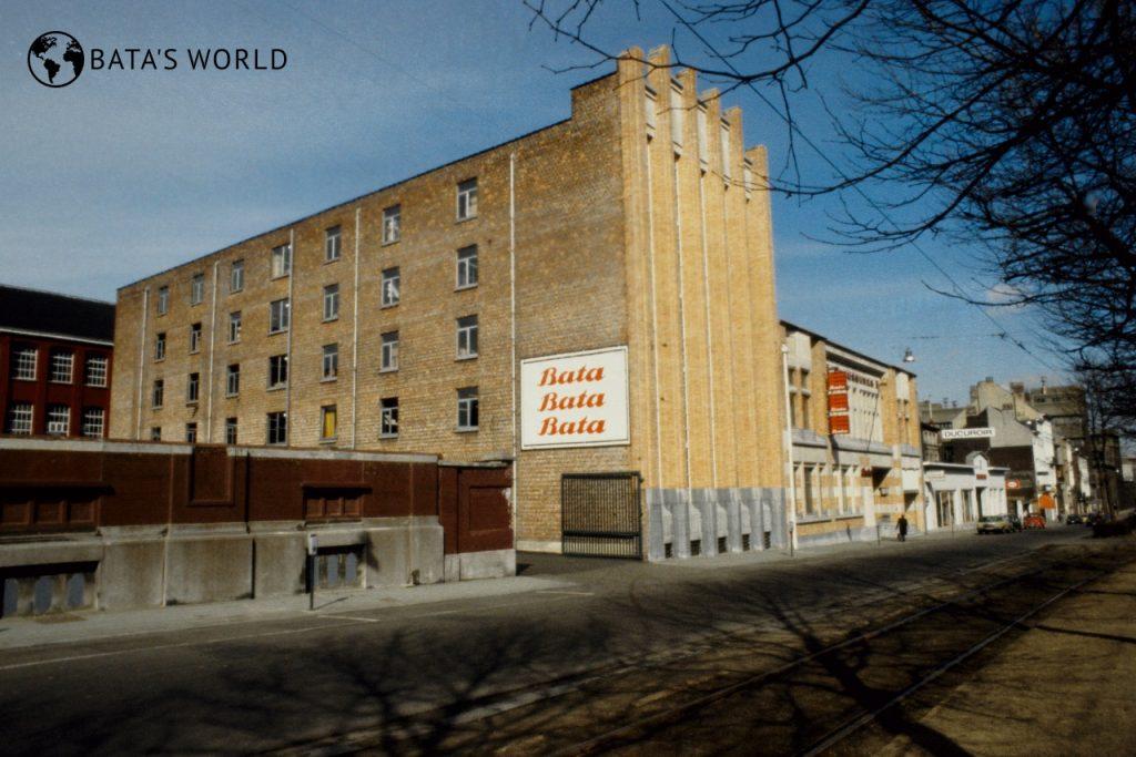 Baťova továrna, Belgie, 1979