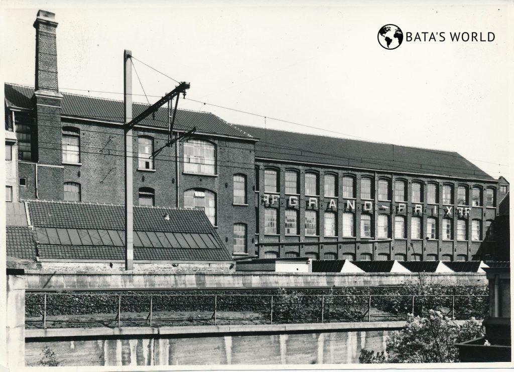 Baťova továrna, Brusel
