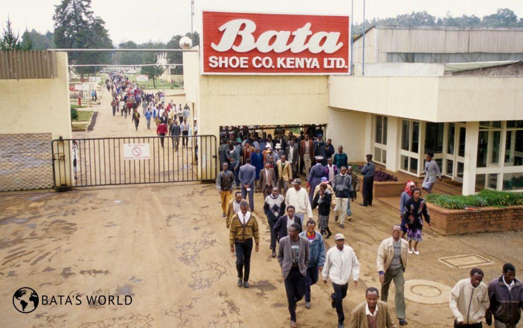 Keňa, firemní továrna, (asi 80. léta)