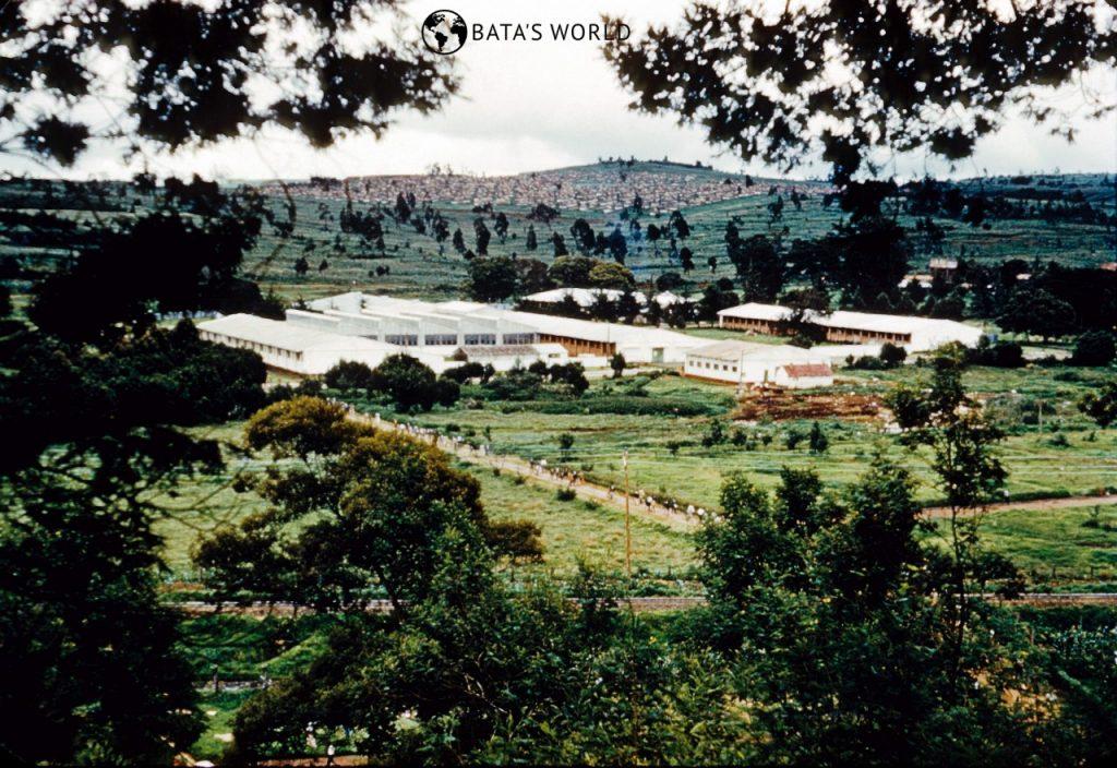 Baťova továrna, Limuru, 1957