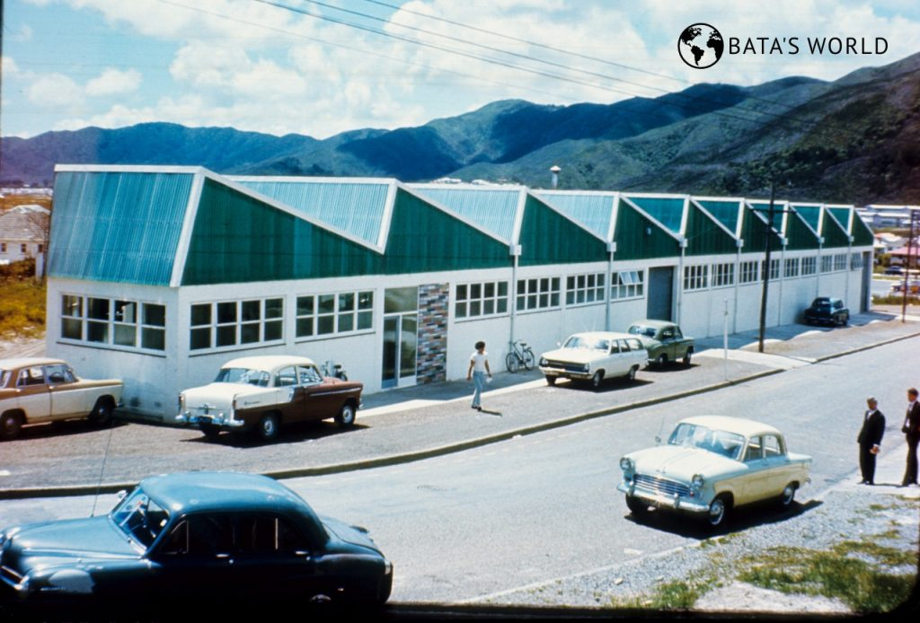 Baťova továrna, Wellington, 1969
