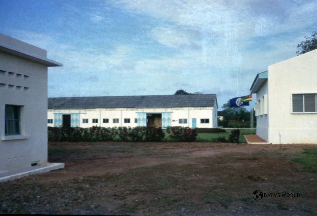 Baťova továrna v Togu